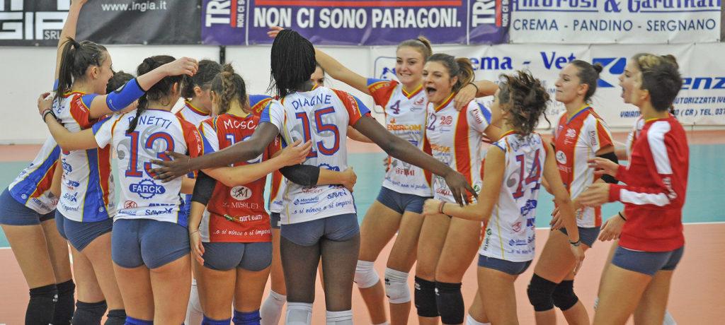 Volley 2.0 Crema: successo da tre punti col Celadina