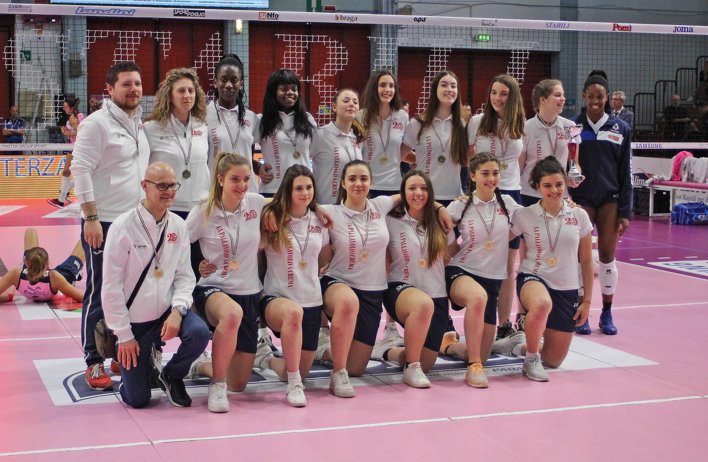 Volley 2.0: Under 18 campione per la quinta stagione consecutiva!