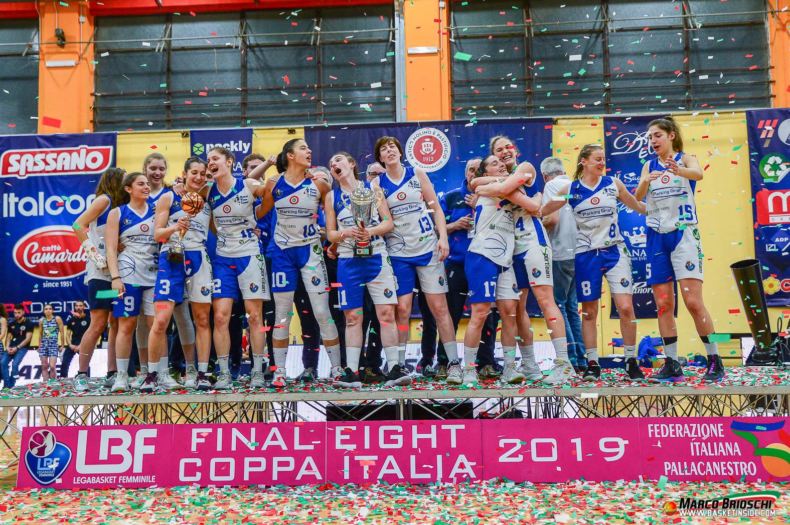 BASKET TEAM CREMA CAMPIONE IN COPPA ITALIA A2! LA FESTA E I NUOVI OBIETTIVI