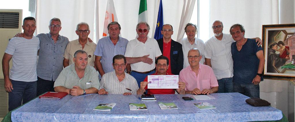 Memorial Mazzini: la cerimonia di consegna del ricavato all'Aipamm