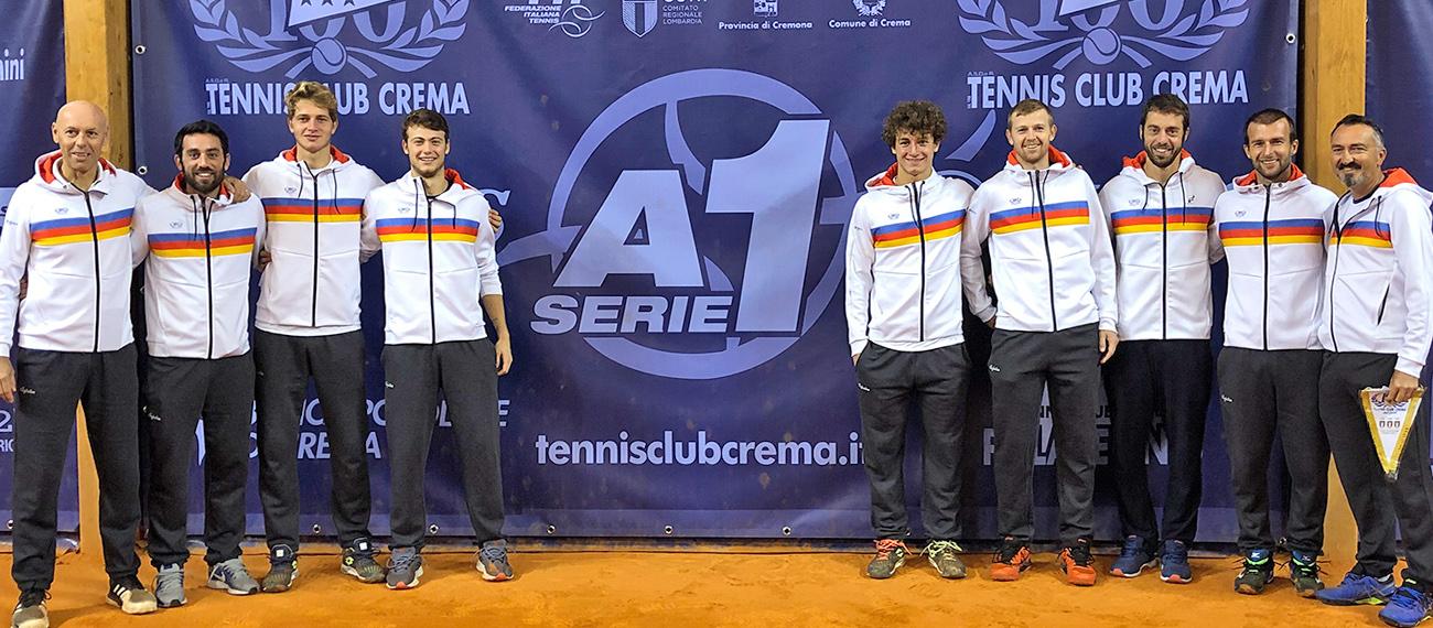 Tennis Club Crema: un grande Lorenzi firma il 4-2 che vale la vetta della classifica!